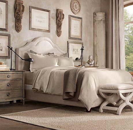 RESTORATION HARDWARE - Jameson Upholstered Bed | Upholstered Beds | Restoration Hardware