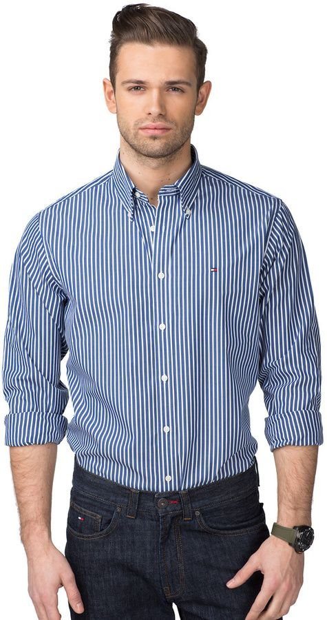 New York Chemise Coupe Droite