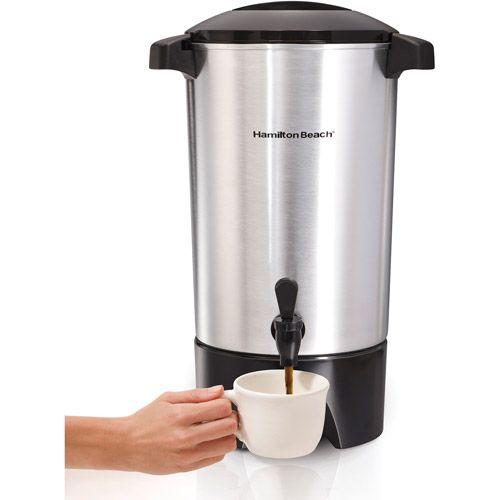 Hamilton Beach 45 Cup Coffee Urn Model 40515r Walmart Com Coffee Urn Percolator Coffee Coffee Brewer