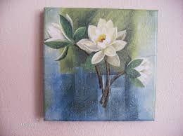 Resultado de imagem para telas flores brancas