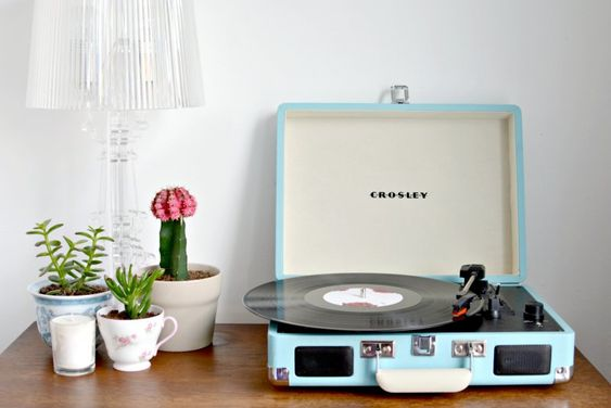 Music really livens up a space- and music always sounds better when it's played on a crosley record player #uooncampus #uocontest