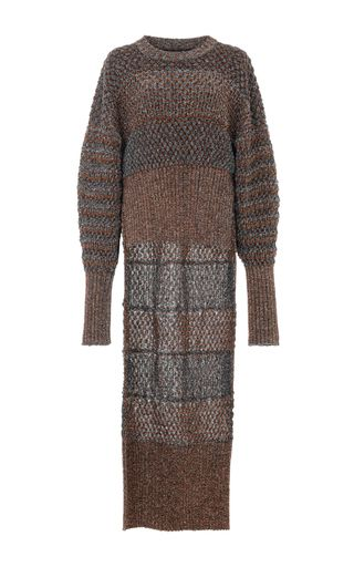 Lurex Knit Poet Sweater by ESTEBAN CORTAZAR for Preorder on Moda Operandi