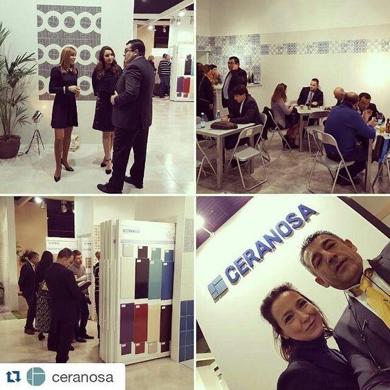 #repostapp @ceranosa #stand #cevisama2016 by goldencer