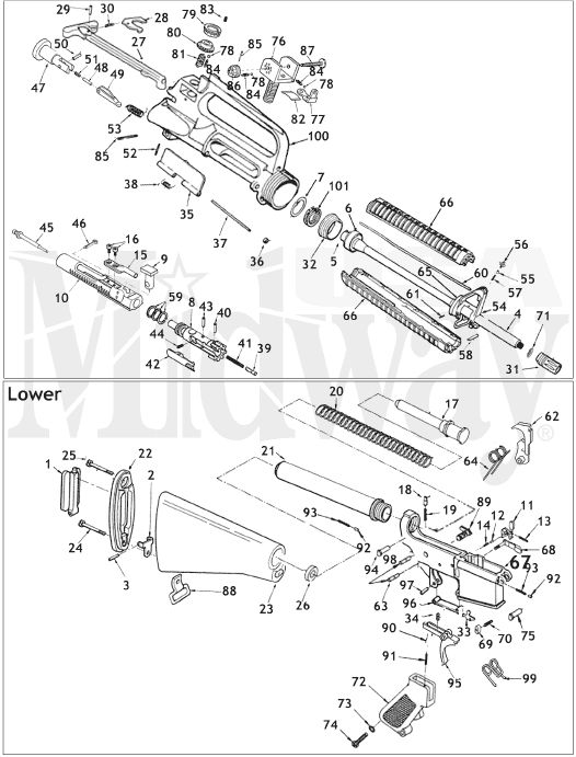 Ar 15 Schematic Is Here At Website Ar15 And Great Websites
