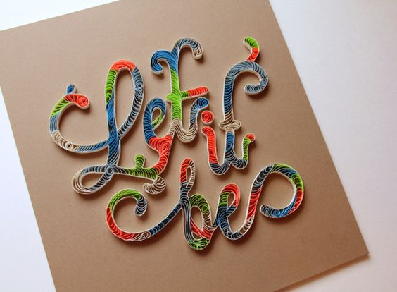 Quilling on Behance