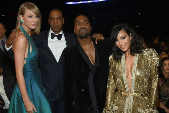 Taylor Swift and Jay Z  and another couple