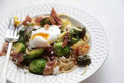 Roasted Brussels Sprouts and Prosciutto Pasta | Tasty Kitchen: A Happy Recipe Community!