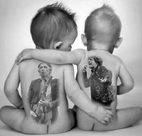 Keith Richards and Mick Jagger:
