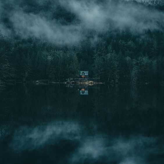 Solitude on the lake