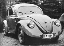 The only model to survive from 1938 is in the Volkswagen museum.