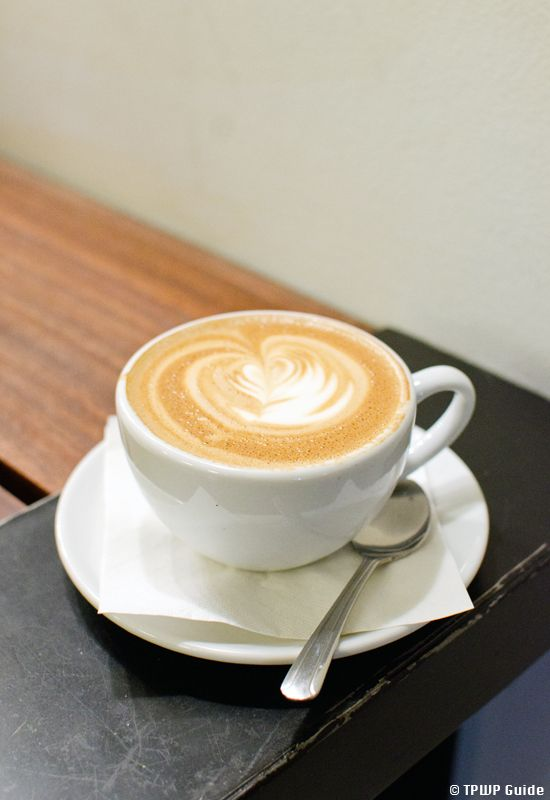 Cappuccino with a heart at Baked and Wired #coffee #cappuccino #washingtondc. More photos: http://bit.ly/oQUHDG