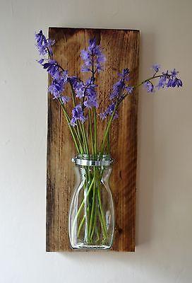 Reclaimed Scaffolding Board Flower Pot / Planter Storage   eBay