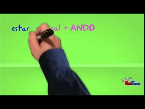 La forme progressive : comment traduire une action qui est en train de se dérouler ?-- Created using PowToon -- Free sign up at http://www.powtoon.com/join -- Create animated video...