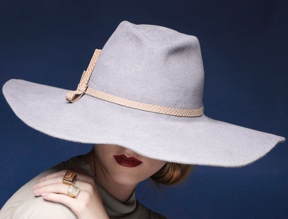 The perfect rescue for a bad hairday that won't even be fixed with a braid. We love this Fur Felt Fedora Hat.