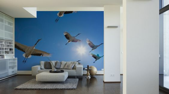 Architects Paper Fototapete Fly Away (XL) 470096; simuliert auf der Wand