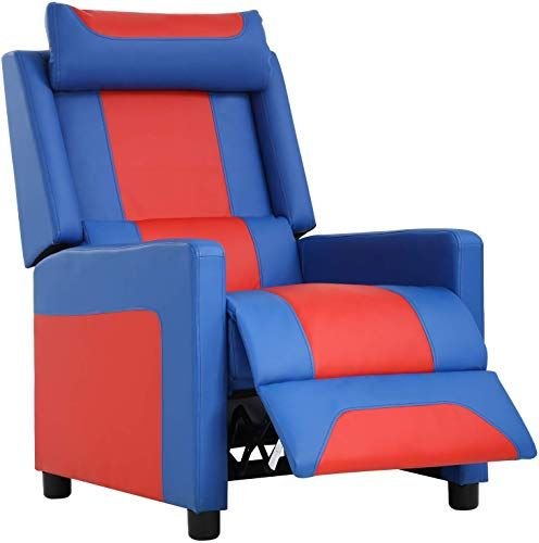 Enjoy Exclusive For Fdw Gaming Video Game Chairs Recliner Couch Gamer Chair Reclining Home Movie Theater Sofa Single Living Room Furniture Seat Comfortable Blu In 2020 Gaming Sofa Leather Sofa Recliner Chair