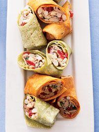Tuna & White Bean Wraps (via Parents.com)