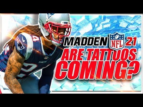 Tattoos Coming To Madden Nfl 21 In 2020 Madden Nfl Nfl Madden