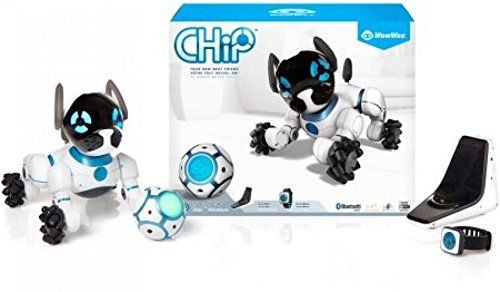 Amazon Com Chip The Lovable Robot Dog Electronic Interactive