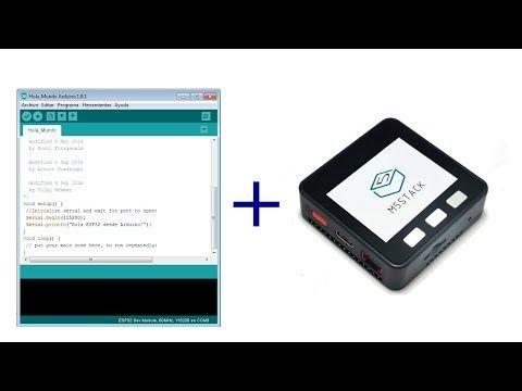 Como Programar Los Módulos M5stack Con El Ide De Arduino