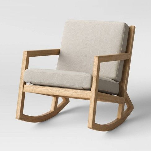 Fairglen Wood Arm Modern Rocking Chair Project 62 Target