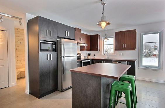 cucine-ad-angolo-moderne-isola-piccola | Cucine | Pinterest
