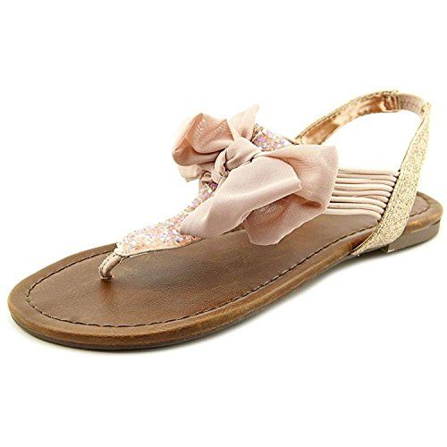 Catata Womens Summer Buckle Strap Flats Flip-Flop Sandals Gladiator Sandals