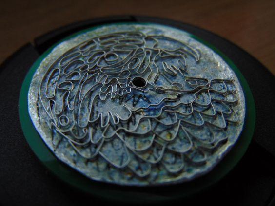 Silver enamel dial. 7aa7e8689356aa7a13946b556ea39091
