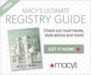 Wedding registry checklist wedding registries and the for Wedding registry the knot