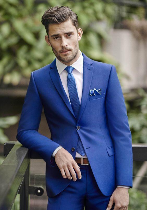 Royal Blue Coat Pant Royal Blue Formal Suit For Men