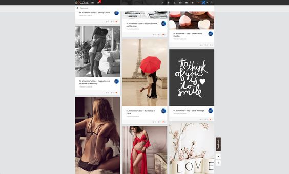 Inspiration for St. Valentine's Day on Soccial - The new social network  #valentinesday #socialnetwork #internet #technology #inspiration #soccial