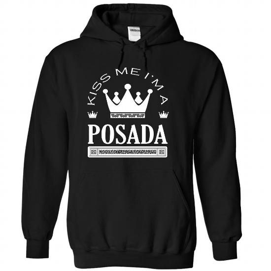 Kiss Me I Am POSADA Queen Day 2015 - #long #college sweatshirt. LIMITED AVAILABILITY => https://www.sunfrog.com/Automotive/Kiss-Me-I-Am-POSADA-Queen-Day-2015-uxcobkdwmg-Black-41557911-Hoodie.html?id=60505