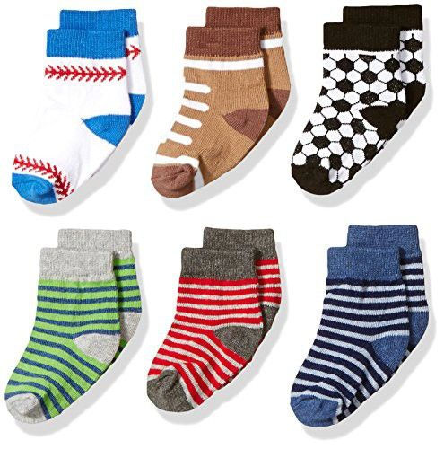 football patterned boy boy socks