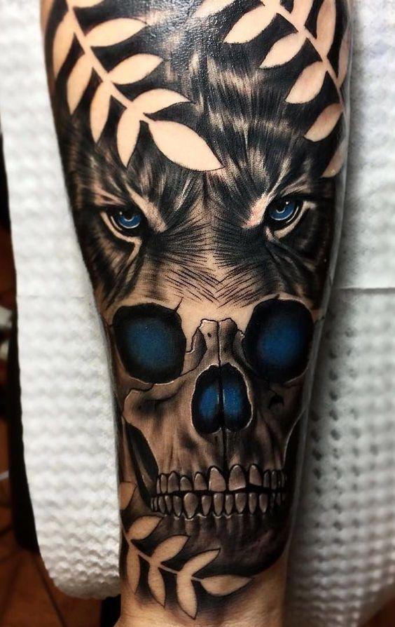 Tatuajes Para Hombres Antebrazo 92 Fotos Actualizado Tatuajes Para Hombres En El Antebrazo Tatuajes Con Craneo Indio Tatuajes De Miedo