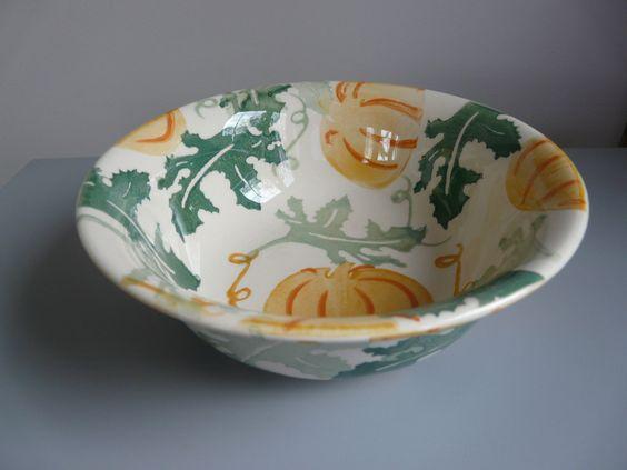 Pumpkin Cereal Bowl 2008 (Discontinued)