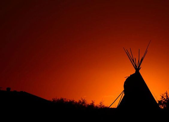 October 11 2012 Sunset Teepee Photo By Bradley Yee