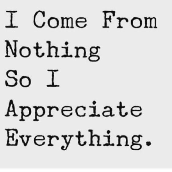 I appreciate everythong