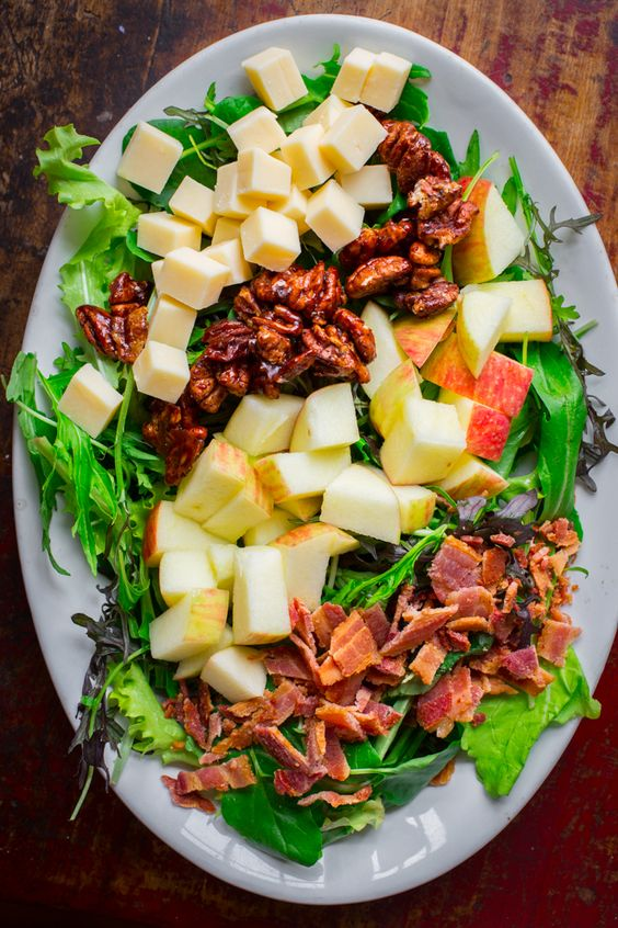 Vermont, Fall salad and Salads on Pinterest