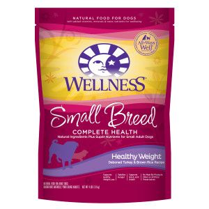 Wellness® Complete Health Small Breed Adult Dog Food - Natural, Healthy Weight | Dry Food | PetSmart