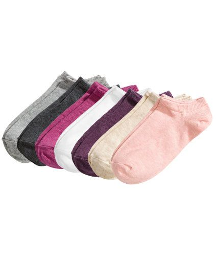 7-pack Ankle Socks | Product Detail | H&M