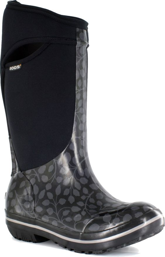 Bogs Plimsoll Tall Leaf Insulated Rain Boots - Women's - Looks ...