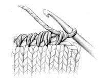 Reverse Single Crochet - Glossary - Knitting Daily