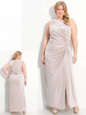 Vestido para mãe da noiva ou do noivo gordinha [31]