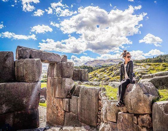 Disfrute de las maravillosa ruinas de #sacsayhuaman  en Cusco