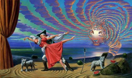 Michael Cheval Spiral of Desire