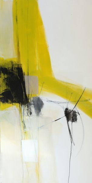 toiles peintures abstraits peinture abstraite acrylique jaune tableaux peinture dart mouly colors - Tableaux Abstraits Colors