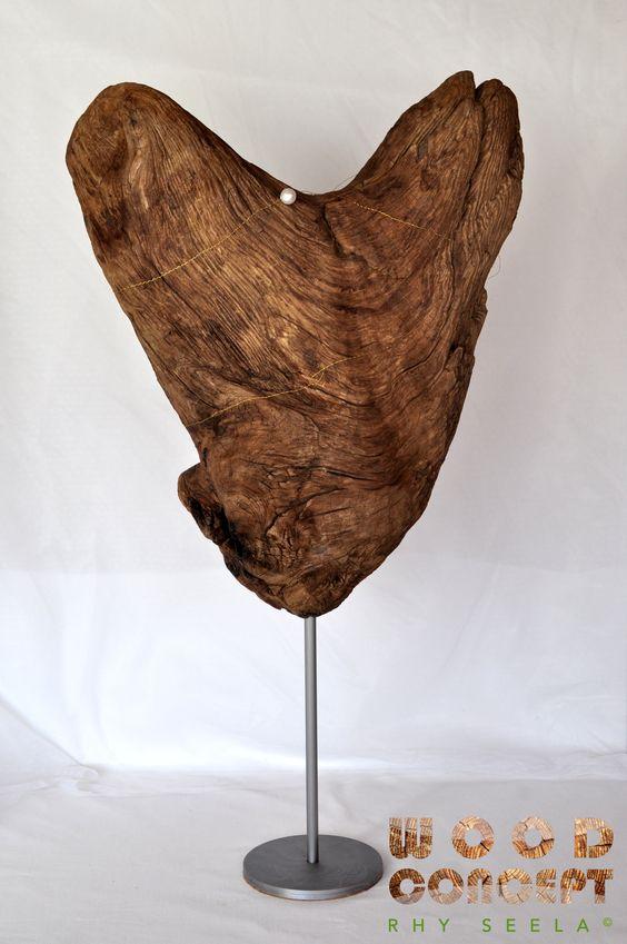RHY SEELA mini © mit Teelicht (Art. 7213) Holzart Schwemmholz vom Rhein Abmessung 53 x 25cm Preis CHF 90.–