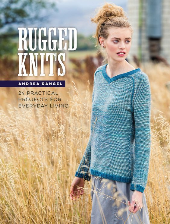 GIVEAWAY & BOOK REVIEW || RUGGED KNITS BY ANDREA RANGEL