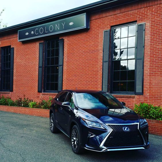 """From the Lexus RX press launch in Portland."""