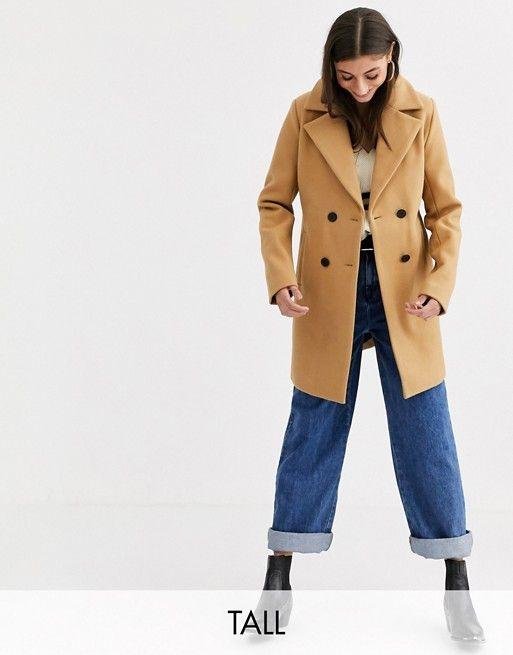 Fashion Union Double Ted Coat, Fashion Union Pea Coat